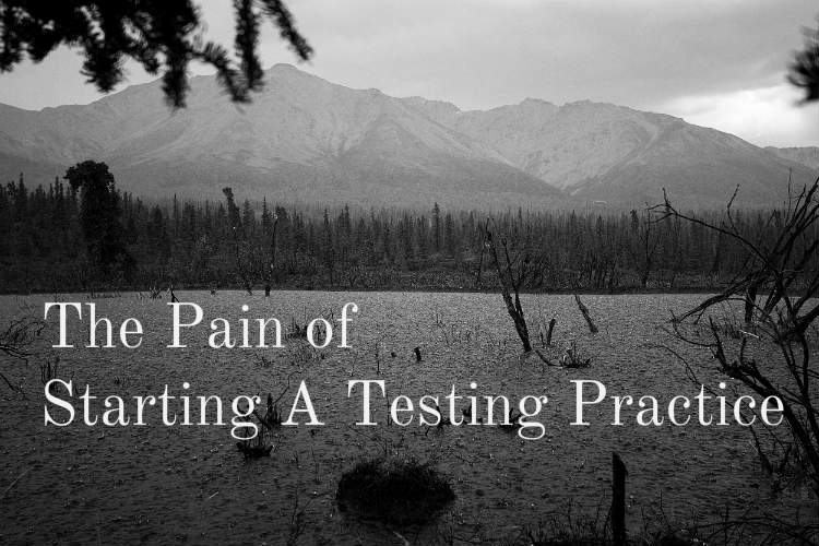 The Pain of Starting a Testing Practice
