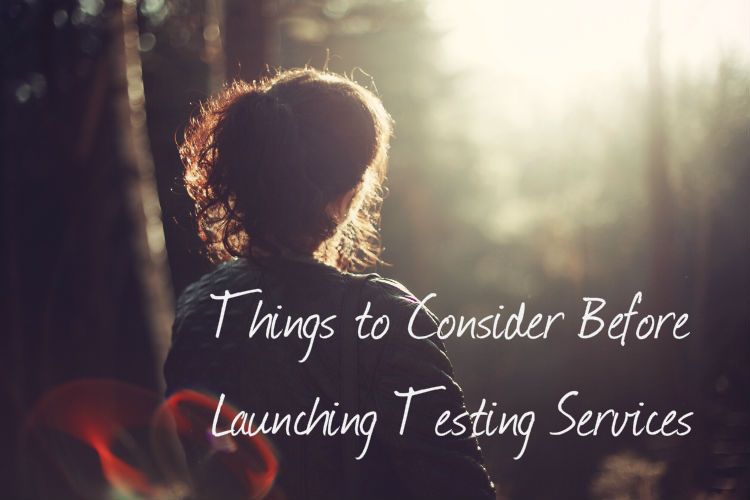 Things to Consider Before Launching Testing Services