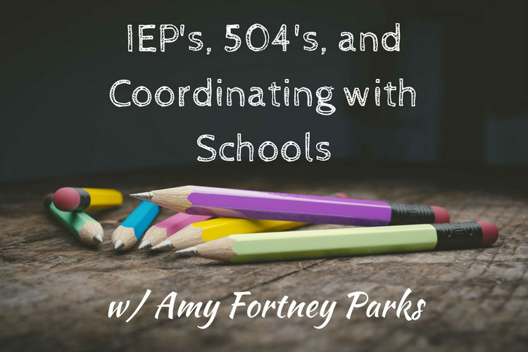 Coordinating with Schools