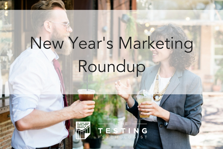 New Year's Marketing Roundup